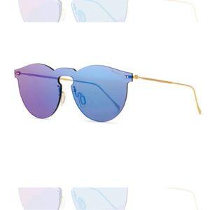 Illesteva Rimless mirrored leonard sunglasses